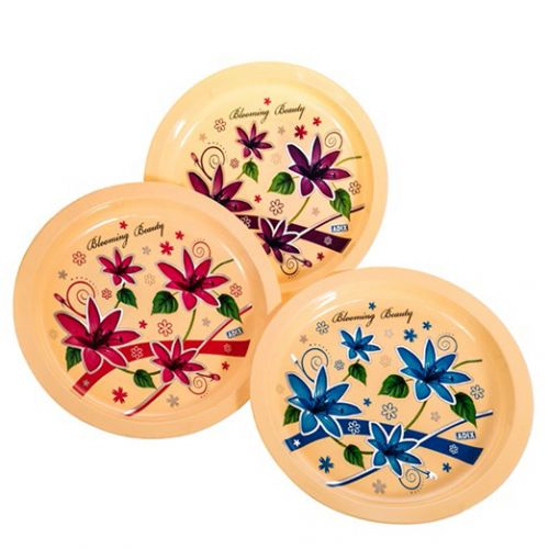 Serving-Tray-Round-Printed